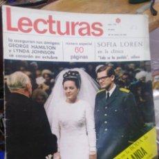 Coleccionismo de Revistas: REVISTA LECTURAS 20 DE ENERO 1967 N°770-NUMERO ESPECIAL/SOFIA LOREN/BODA MARGARITA DE HOLANDA. Lote 287464778