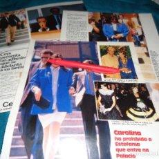 Colecionismo de Revistas: RECORTE : CAROLINA DE MONACO, PROHIBE ENTRADA A MARIO. LECTURAS, MAYO 1987(#). Lote 288362028