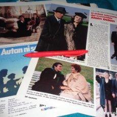 Coleccionismo de Revistas: RECORTE : DEBUT TELEVISIVO DE ALAIN DELON. LECTURAS, JUNIO 1988 (#). Lote 288366013