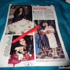Coleccionismo de Revistas: RECORTE : SILVIA PANTOJA, CELEBRA SU 19 CUMPLEAÑOS. LECTURAS, JUNIO 1988 (#). Lote 288366793