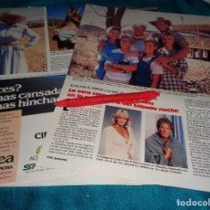 Coleccionismo de Revistas: RECORTE : LA OTRA CARA DE LINDA EVANS. LECTURAS, JUNIO 1988 (#). Lote 288366998