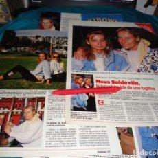 Coleccionismo de Revistas: RECORTE : LA DULCE NEUS, LA VIDA DE UNA FUGITIVA. LECTURAS, JULIO 1988(#). Lote 289404123