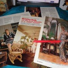 Coleccionismo de Revistas: RECORTE : CHRISTIAN BACH, LA REINA DE LAS TELENOVELAS MEXICANAS. LECTURAS, JULIO 1988(#). Lote 289404788