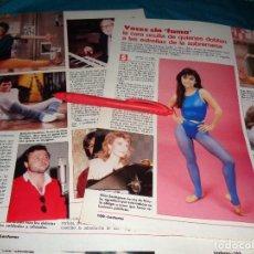 Coleccionismo de Revistas: RECORTE : LOS QUE DOBLAN A LOS ACTORES DE LA SERIE FAMA. LECTURAS, JULIO 1988(#). Lote 289404928