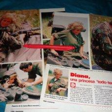 Coleccionismo de Revistas: RECORTE : DIANA DE GALES, UNA PRINCESA TODO-TERRENO. LECTURAS, JULIO 1988(#). Lote 289405013