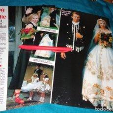 Coleccionismo de Revistas: RECORTE : BODA DEL CANTANTE STING CON TRUDIE. LECTURAS, SPTMBRE 1992 (#). Lote 289405733