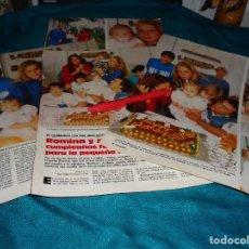 Coleccionismo de Revistas: RECORTE : ROMINA POWER Y AL BANO, CUMPLEAÑOS DE SU HIJA PEQUEÑA. LECTURAS, JUNIO 1988(#). Lote 289602898