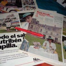Coleccionismo de Revistas: RECORTE : ROCIO JURADO, CONVERTIDA EN PERSONAJE DE DISNASTIA. LECTURAS, JUNIO 1988(#). Lote 289603008
