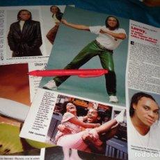 Coleccionismo de Revistas: RECORTE : LEROY, DE LA SERIE FAMA. LECTURAS, JUNIO 1988(#). Lote 289603163
