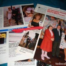 Coleccionismo de Revistas: RECORTE : LOS BARONES THYSSEN, ( CARMEN CERVERA) PUENTE ENTRE URSS Y EUROPA. LECTURAS, JUNIO 1988(#). Lote 289603313