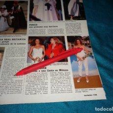 Coleccionismo de Revistas: RECORTE : ANA OBREGON Y URSULA ANDRESS, EN MONACO. LECTURAS, JUNIO 1988(#). Lote 289603718