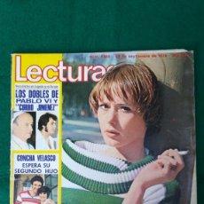 Collectionnisme de Magazines: LECTURAS, YVONNE SENTÍS, MAZINGER Z, CONCHA VELASCO. 1978. Lote 289625188