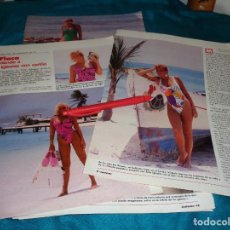 Coleccionismo de Revistas: RECORTE : LA FLACA, RECUERDA A JULIO IGLESIAS. LECTURAS, JULIO 1988(#). Lote 290006793