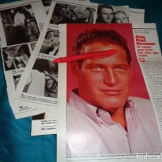 Coleccionismo de Revistas: RECORTE : CICLO PAUL NEWMAN. LECTURAS, JULIO 1988(#). Lote 290007613