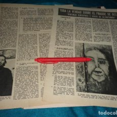 Coleccionismo de Revistas: RECORTE : TODA LA VERDAD SOBRE EL FRAUDE DE LAS CARAS DE BELMEZ. CAP. 2. LECTURAS, MARZO 1972(#). Lote 293935983