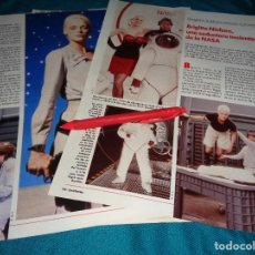 Coleccionismo de Revistas: RECORTE : BRIGITTE NIELSEN, PELICCULA SOBRE LA NASA. LECTURAS, JULIO 1989(#). Lote 293939898