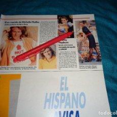 Coleccionismo de Revistas: RECORTE : AUDREY HEPBURN, CAMPAÑA DE AYUDA A UNICEF. LECTURAS, JULIO 1989(#). Lote 293940188