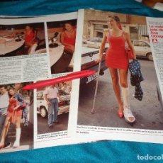 Coleccionismo de Revistas: RECORTE : LA MALA PATA DE ANA OBREGON. LECTURAS, AGTO 1988(#). Lote 295024698
