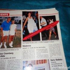 Coleccionismo de Revistas: RECORTE : MADONNA, ADOPTA LA MODA DE LAS BREMUDAS. LECTURAS, AGTO 1988(#). Lote 295025763
