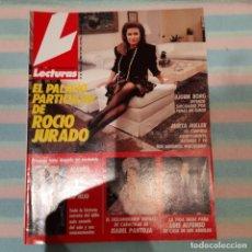 Coleccionismo de Revistas: REVISTA LECTURAS NUMERO 1924 ROCÍO JURADO. Lote 296623708