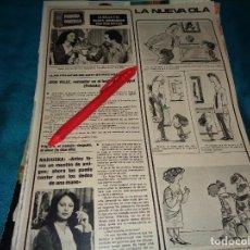 Coleccionismo de Revistas: RECORTE : NADIUSKA Y JOSE VELEZ. SEMANA, SPTMBRE 1977 (#). Lote 296780713