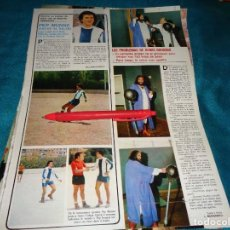 Coleccionismo de Revistas: RECORTE : PEP MUNNE. DEMIS ROUSSOS. SEMANA, SPTMBRE 1977 (#). Lote 296780773