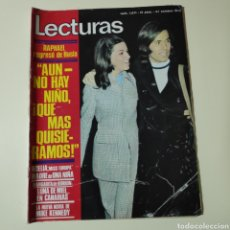 Coleccionismo de Revistas: LECTURAS 1071 RAPHAEL MIKE KENNEDY MANOLO CALVA NINO BRAVO VIRNA LISI BASILIO MANUEL GIL ALAIN DELON. Lote 297096203