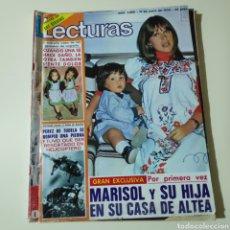 Coleccionismo de Revistas: LECTURAS 1260 MARISOL MARCO KARINA PAUL NASCHY INQUISICION NADIUSKA ANDRES PAJARES. Lote 297098178
