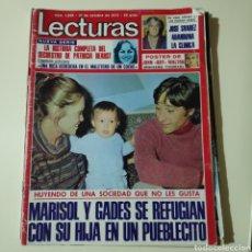 Coleccionismo de Revistas: LECTURA 1228 THE ROLLING STONES MARISOL ANALIA GADE E CORDOBES CARMEN SEVILLA JUAN PARDO PADRINO II. Lote 297099148
