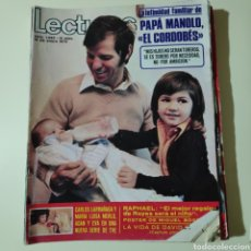 Coleccionismo de Revistas: LECTURAS 1082 UN DOS TRES CORDOBES RAPHAEL CARLOS LARRAÑAGA MONACO JULIO IGLESIAS MARISOL MICKY. Lote 297101933