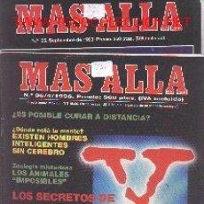 Coleccionismo de Revista Más Allá: 17-164. REVISTAS MÁS ALLA, Nº 55, 86 Y 88. Lote 1614633