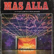 Coleccionismo de Revista Más Allá: REVISTA MAS ALLA Nº 54 AGOSTO DE 1993. STEPHEN TUROFF. RAYMOND MOODY. VENENOS ANIMALES.. Lote 22010655
