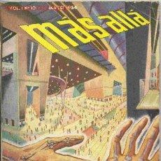 Coleccionismo de Revista Más Allá: MÁS ALLÁ # 12, LA 1ª REVISTA DE CIENCIA FICCIÓN Y FANTASÍA EN ESPAÑOL, 1954. Lote 26441359
