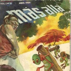 Coleccionismo de Revista Más Allá: MÁS ALLÁ # 11, LA 1ª REVISTA DE CIENCIA FICCIÓN Y FANTASÍA EN ESPAÑOL, 1954. Lote 26441357