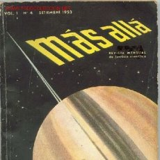 Coleccionismo de Revista Más Allá: MÁS ALLÁ # 04. Lote 26441353