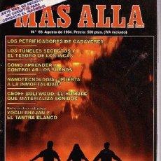 Collectionnisme de Magazine Más Allá: REVISTA MAS ALLA AGOSTO 1994 Nº 66. Lote 2222267