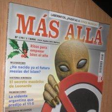 Coleccionismo de Revista Más Allá: MAS ALLA, Nº 179. Lote 10078681