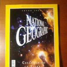 Coleccionismo de Revista Más Allá: NATIONAL GEOGRAPHIC ESPAÑA ENERO 2000 -- CELEBRANDO LA TIERRA Y MÁS ALLÁ --. Lote 15520635