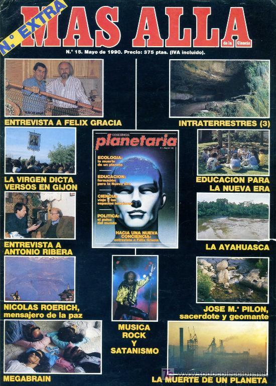 REVISTA MAS ALLA Nº EXTRA (Coleccionismo - Revistas y Periódicos Modernos (a partir de 1.940) - Revista Más Allá)