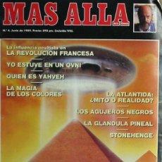 Coleccionismo de Revista Más Allá: REVISTA MÁS ALLÁ - Nº 4 - JUNIO DE 1989 - VER PORTADA E ÍNDICE. Lote 101748310