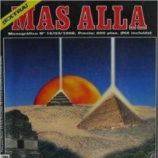 Coleccionismo de Revista Más Allá: PIRÁMIDES DEL MUNDO - MONOGRÁFICO DE LA REVISTA MAS ALLA - Nº 16 - MARZO 1996. Lote 26402005