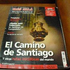 Coleccionismo de Revista Más Allá: REV. MÁS ALLÁ.-MONOGRAFICONº 60- EL CAMINO DE SANTIAGO.-TEMPLARIOS, SHIKOKU. Lote 27742805