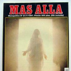 Coleccionismo de Revista Más Allá: MAS ALLÁ . MONOGRAFICO Nº 21 . IMAGENES DE LO SOBRENATURAL . 1ª EDICION. Lote 29096041