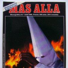 Coleccionismo de Revista Más Allá: MAS ALLÁ . MONOGRAFICO Nº 13 . SECTAS . 1ª EDICION. Lote 29096143