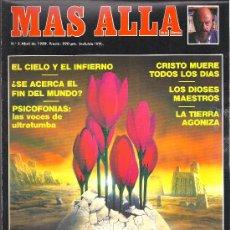Coleccionismo de Revista Más Allá: REVISTA MAS ALLA Nº 2 ABRIL 1989. Lote 29686898