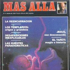Coleccionismo de Revista Más Allá: REVISTA MAS ALLA Nº 6 AGOSTO 1989. Lote 29686969