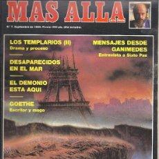 Coleccionismo de Revista Más Allá: REVISTA MAS ALLA Nº 7 SETBRE 1989. Lote 29686986