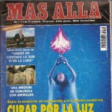 Coleccionismo de Revista Más Allá: REVISTA MAS ALLÁ. NUMERO 113 JULIO DE 1998. CURAR POR LA LUZ. Lote 32401065