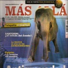Coleccionismo de Revista Más Allá: REVISTA MAS ALLÁ. NUMERO 221. AÑO XIX. ANTIGRAVEDAD Y LEVITACIÓN. Lote 32401240