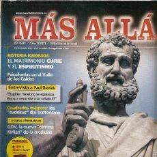 Coleccionismo de Revista Más Allá: REVISTA ESOTÉRICA MÁS ALLÁ NÚMERO 266 AÑO XXIII. EL MISTERIO DE LAS TUMBAS BÍBLICAS. Lote 32413746